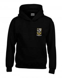 Otley Rugby Kids Hooded Sweatshirt Black